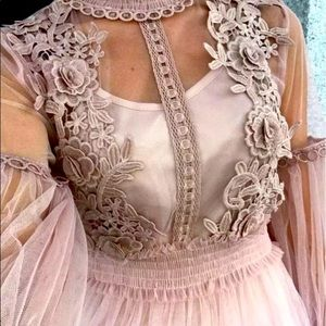 """""""The Lexie"""" Embroidered Flower Princess Dress"""